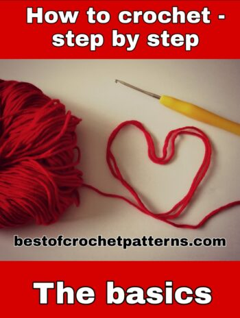 Learn to crochet step by step for free – video tutorials