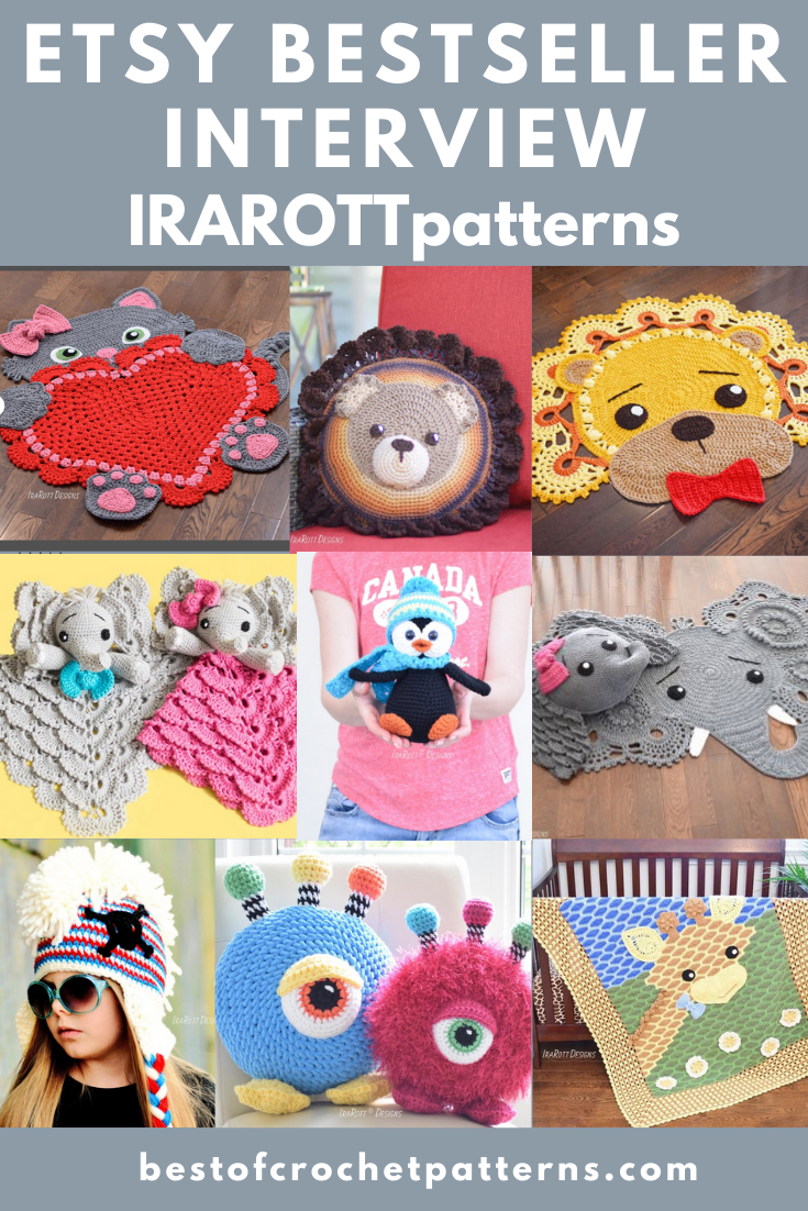 Etsy Bestseller Inaterview - IRAROTTpatterns