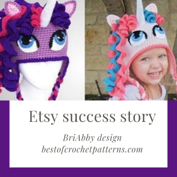 Top etsy seller interview – beautiful crochet patterns from BriAbby Designs