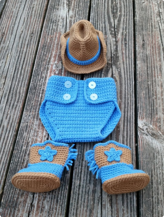 Baby Boy Halloween Costume - The Cowboy