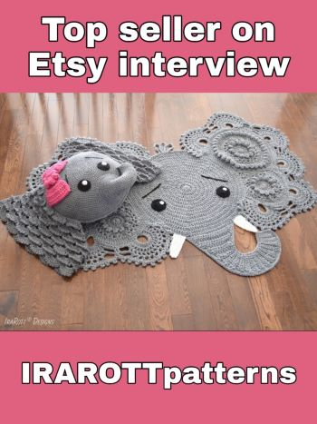 Top seller on Etsy interview – Inspirational stories on success Ira Rott