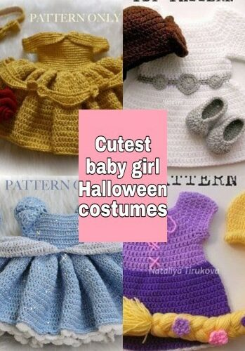 Crochet halloween costumes – the cutest Haloween baby girl costumes