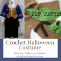 baby Boy Halloween Crochet Patterns