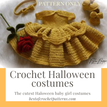 Crochet Halloween Costumes - The cutest Halloween baby girl costumes