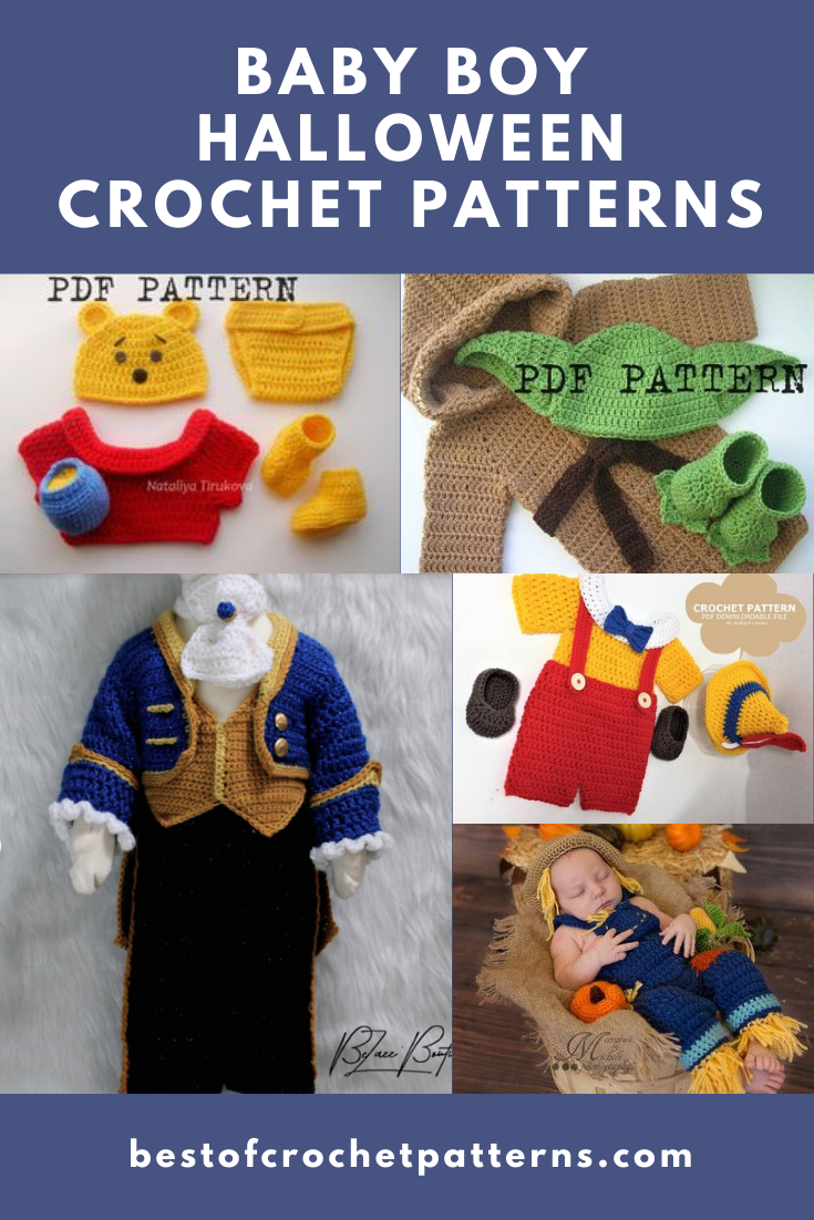 Baby Boy Halloween Crochet Patterns - Best Of Crochet Patterns