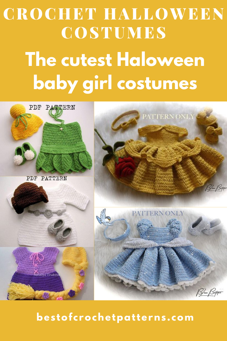 Crochet Halloween Costumes - The Cutest Baby Girl Halloween Costume