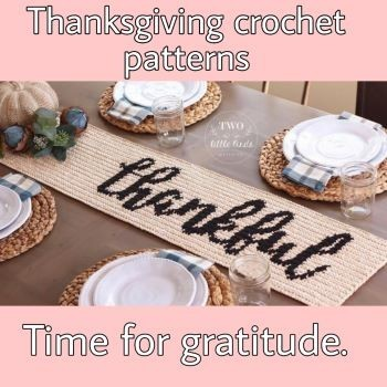 Inspirational Thanksgiving patterns