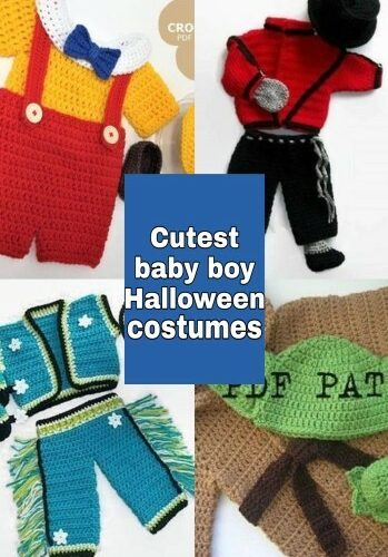 Crochet Halloween baby boy costume – the coolest costumes you can crochet