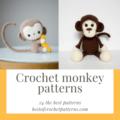 Crochet monkey pattern - 24 the best patterns