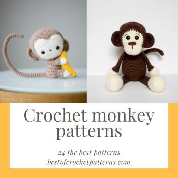 Free Pattern: Crochet Monkey Hats | Crochet monkey, Crochet monkey ... | 350x350