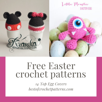 Free Easter crochet patterns – Top 14 egg covers