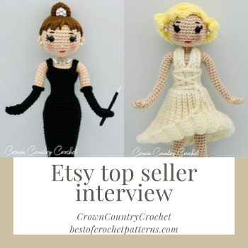 Esty top seller interview – CrownCountryCrochet
