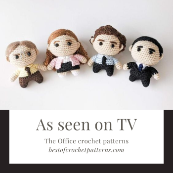 As seen on TV – The Office Crochet Patterns