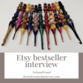 Etsy bestseller interview - NELSONWOOD