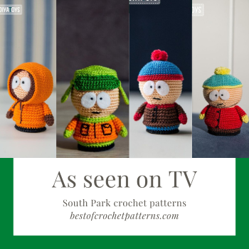 As seen on TV – South Park Crochet Patterns