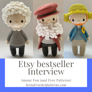 Etsy Bestseller Interview – Amour Fou (and free patterns)