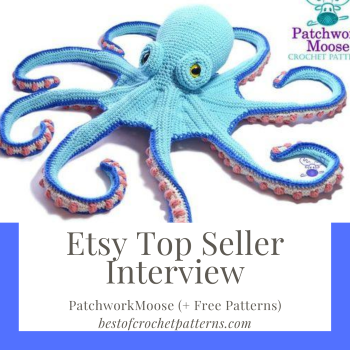 Etsy Top Seller Interview – PatchworkMoose (+FREE Patterns)