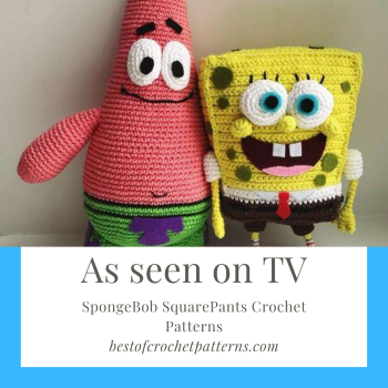 As seen on TV – SpongeBob SquarePants Crochet Patterns