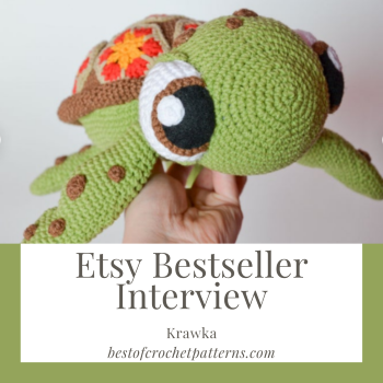 Etsy Bestseller Interview – Krawka Crochet