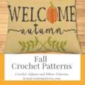 Fall Crochet Patterns - Crochet Afghan and illow patterns