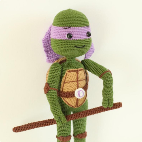 Ninja turtle Donatello Crochet Pattern