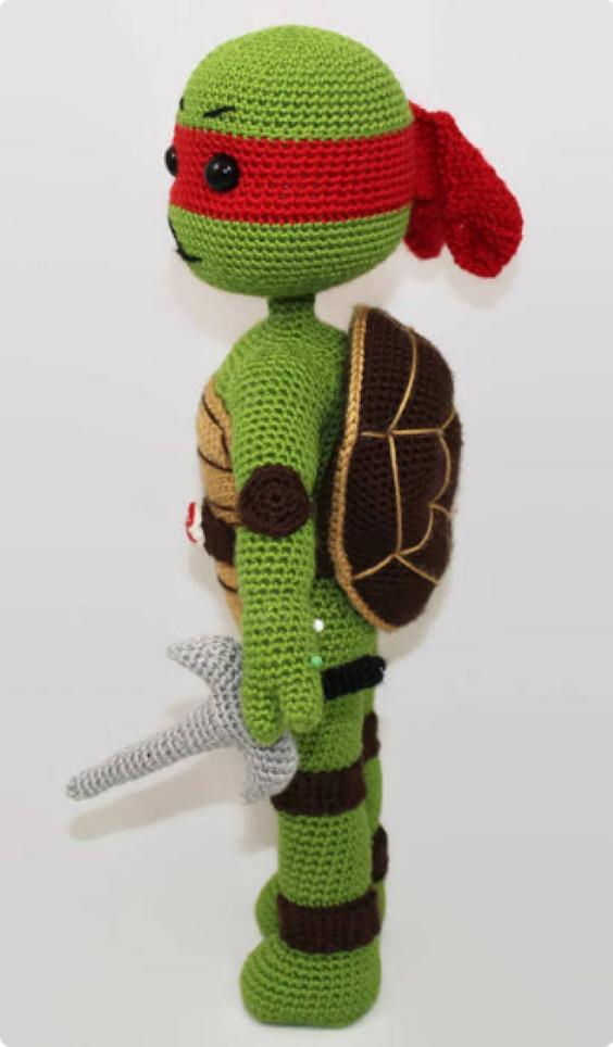 NInja Turtle Rafael Crochet Pattern