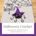 Halloween Crochet Patterns - Cute and Scary Blanket and Pillow Patterns