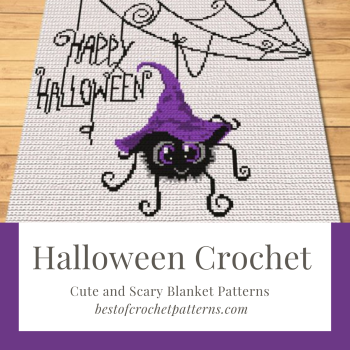 Halloween Crochet – Scary Blanket and Pillow Patterns
