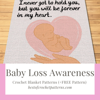 Baby Loss Awareness Crochet Patterns (+FREE Pattern)
