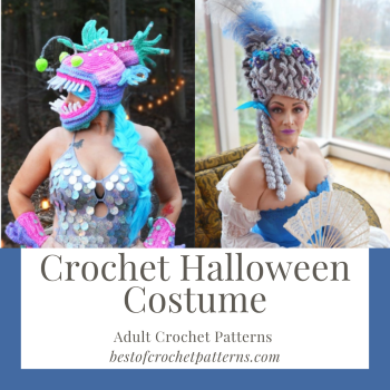 Crochet Halloween Costume - Adult Crochet Patterns