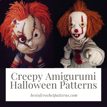 Creepy Amigurumi Halloween Patterns