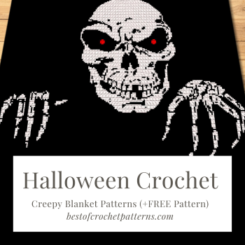Halloween crochet – Creepy Blanket Patterns (+FREE Pattern)