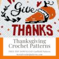 Thanksgiving Crochet Patterns - FREE PDF Thanksgiving Garfield Pattern
