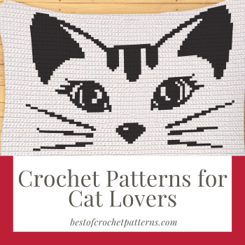 Crochet Patterns for Cat Lovers - Pretty Things By Katja