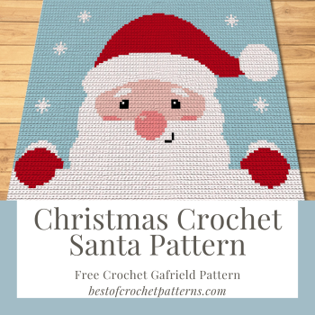 Christmas Crochet Santa Pattern – Free Garfield Pattern