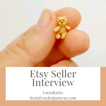 Etsy Seller Interview – LuciaKnit (micro amigurumi)