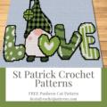 St Patrick Crochet Patterns - Free Pusheen Cat Pattern