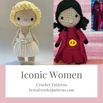 Iconic Women Crochet Patterns